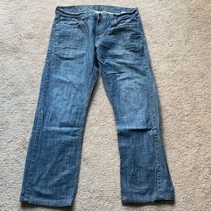 Slim straight jeans. Barely worn!